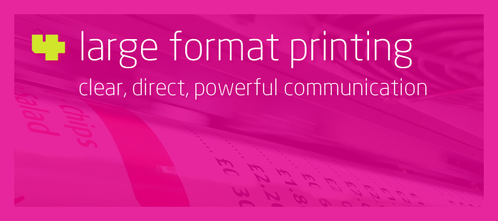 Hillside 4 Large Format Printing - Clear, direct, powerful communication